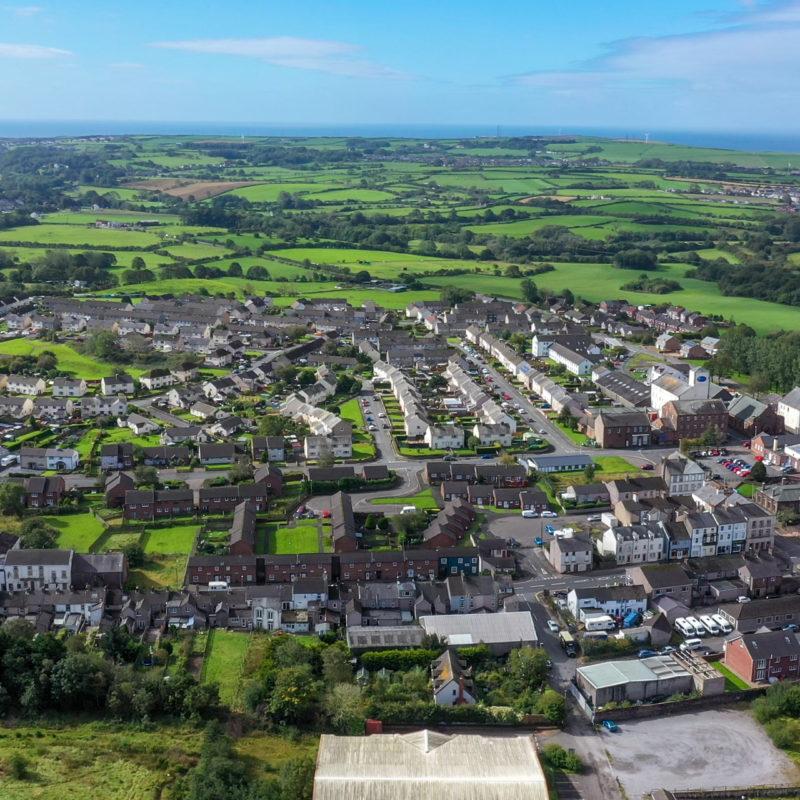 Copeland, aerial view